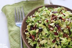 Skip To RecipeSavory Sunday is here and today is a perfect and simple slaw for your Thanksgiving meal, or just …