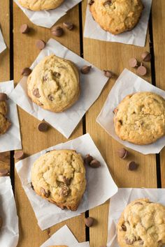 If you love chocolate, you have to try this recipe for the best easy chocolate chip cookies! A few tips help bake up the most tender and tasty cookies ever! Chewy Chocolate Cookies, Tasty Cookies, Low Carb Desserts, Treat Yourself, Sweet Stuff, Baked Goods, The Best, Deserts, Chips
