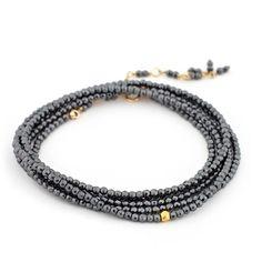 Wrap Bracelet (available in multiple gemstones) - Fire Opal - 1