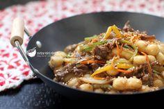 조랭이떡으로 만든 궁중떡볶이 – 레시피 | Daum 요리