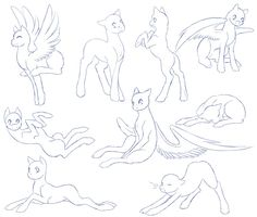 Here's the pony poses i've been talking about c: Hope you all like em. ---------------------------------------------- - MY ANATOMY IS NOT A 100% AIMED TOWARDS REALITY! I like to give my own twist i...