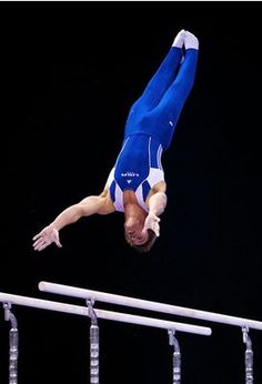 Sam Mikulak competes on the parallel bars during the event finals at the 2012 Kellogg's Pacific Rim gymnastics competition, where he'd go on to win bronze for Team USA. Gymnastics Events, Boys Gymnastics, Gymnastics Competition, Artistic Gymnastics, Olympic Gymnastics, Rhythmic Gymnastics, Team Usa, A Team, Sam Mikulak