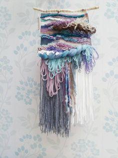 Woven Wall Art 'Marianne' Fibre Art Weaving