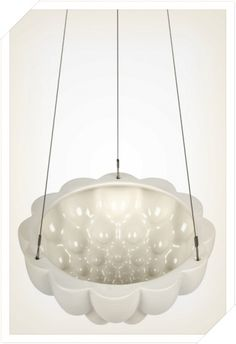 Round Jelly Planter White - Hanging Jelly Planters | Angus and Celeste