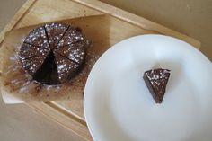 Baby slice, no bake chocolate cake!