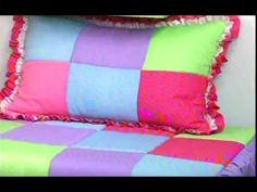(87) Edredon de parches de Sonia Franco. 5/5 - YouTube Sonia Franco, Baby Doll Carrier, Ideas Para, Baby Dolls, Bed Pillows, Pillow Cases, Quilts, Projects, Youtube