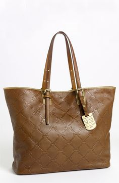 Longchamp 'LM Cuir - Medium' Leather Tote available at #Nordstrom  Looked at this bag at Nordstrom today.  It is beautiful.