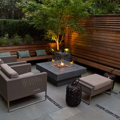 A Family Friendly Brownstone Garden - contemporary - patio - new york - Little Miracles Designs