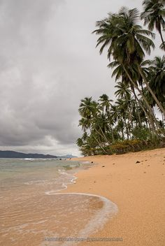 The beach at Pestana Equador resort in Ilhéu das Rolas, São Tomé e Príncipe.