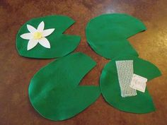 Frog Party Games - Lily Pad Walk