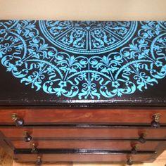 My hand painted dresser