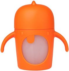 Boon Modster Sippy Cup - Orange - 7 oz - Free Shipping