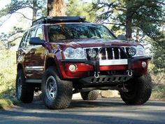Jeep Grand Cherokee WK winch bumper