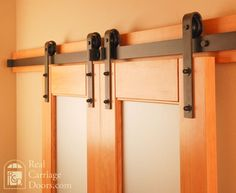 Classic Flat Track barn door hardware - traditional - hardware - seattle - by Real Sliding Hardware
