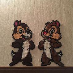 Chip and Dale perler beads by syaekya