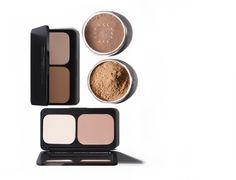 Natural Mineral Foundation and Pressed Mineral Foundation.