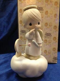 Precious Moments Figurine ~ Sending My Love ~ Angel on a Cloud ~ 100056 ~ Target