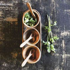 7-Pc. Acacia Serving Set | dotandbo.com $40