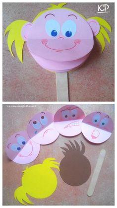 Emotions Preschool, Emotions Activities, Preschool Learning Activities, Toddler Activities, Preschool Activities, Craft Projects For Kids, Paper Crafts For Kids, Easy Crafts For Kids, Toddler Crafts
