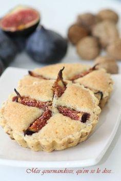 Tartelettes aux figues et aux noix