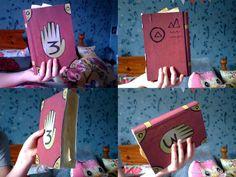 homemade Gravity fall book! #gravityfalls #gravity #falls