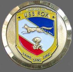 USS Fox DLG/CG-33 patch