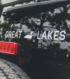 Great Lakes Car Decal