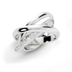 Kate Bosworth's Tiffany's Triple Rolling Band   The first band - Represents the Past  The second band - Represents the Present - The Commitment  The third band - contains diamonds and represents the future- and solid vows between husband and wife  The Bride, the Groom, with God at the center  Ecclesiastes 4:12 King James Version (KJV)  12 And if one prevail against him, two shall withstand him; and a threefold cord is not quickly broken.