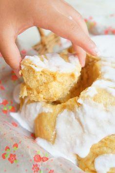 簡単!【捏ねない&レンジとボウルで!】ドーム黒糖ちぎりパン 〜富士山パン〜 | 珍獣ママ オフィシャルブログ「珍獣ママのごはん。」Powered by Ameba