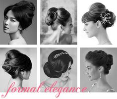 First row, middle. This is how i'm having my hair done! Wedding Hair And Makeup, Wedding Updo, Wedding Beauty, Bridal Hair, Hair Makeup, Wedding Blog, Wedding Planner, Dream Wedding, Wedding Ideas
