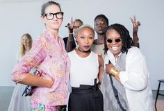 Jenna and our head women's designer Somsack share a few of their favorite moments from our NYFW presentation.