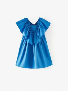 Special price girls' clothing at ZARA online. Zara Jumpsuit, Jumpsuit Dress, Zara Kids Shoes, Vestidos Zara, Online Zara, Jumpsuits For Girls, Dresses Kids Girl, Zara United States, Zapatos