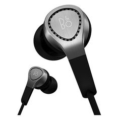 Bang & Olufsen Beoplay In-Ear Headphones with Mic/Remote for Android Devices, Silver Noise Cancelling Earbuds, Wireless Earbuds, Bluetooth, Motorcycle Helmet Accessories, Wedding Gift List, Bang And Olufsen, Headphone With Mic, Over Ear Headphones, Cell Phone Accessories