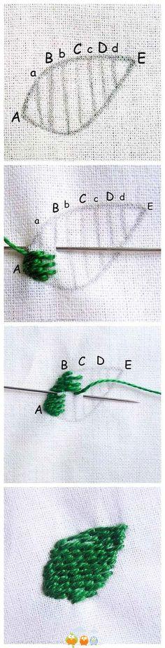 Crewel stitch