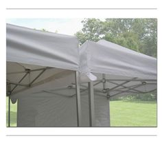 TENTFLAG.COM - RAINGUTTER - The Rain Gutter is ideal for rainy weather conditions and wet climate. It is a narrow channel which is set in the gap between the tents where water is collected and led away to the sides. Rain gutters have run-off channels in one direction: great for events where the entrance and exit are on the same end of the tent.