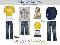 What to wear guide for family