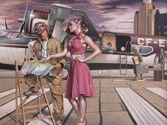 Born in London in 1973, Peregrine Heathcote spent his childhood living in both Britain and Dubai where his imagination was free to flourish as he witnessed an international jet set culture. Hence it is no surprise that the artist's imagery reflects a provocative Silver Screen theatrical quality. In 1995 Peregrine graduated from the Florence Academy of Art and since that time he has been profiled by the BBC in a documentary about his portraits resulting in international exposure.