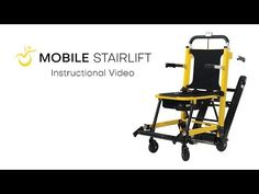 Introducing the Mobile Stairlift — Portable Stair Climbing Wheelchair Electric Scooter For Kids, Stair Lift, Mobility Aids, Mobility Scooters, Stair Climbing, Chairs For Rent, Scooters For Sale, Used Chairs, Youtube
