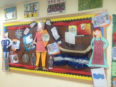 A super Vikings classroom display photo contribution. Great ideas for your classroom!