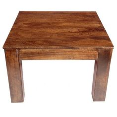 Mango wood is celebrated not only for its environmental sustainability but also its beautiful grain, which captures a variety of rich colours and natural tones. This side table from our 'Mango' range has been hand-crafted to help enhance these unique characteristics, while the chunky design will suit modern interiors.