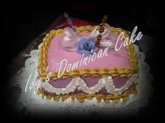 Delicious Dominican Cake made by Ivy. I sell the cake $35.00 per pound. every pound serves 20 people. My cakes are layer. Some fillings are Dulce  Leche (Most Popular)...Guava.. Pineapple.. Bavarian Cream ..banana and strawberry...Vanilla pudding..Chocolate Bavarian ..Orders have to be placed 24 to 48 hours prior to making the order. Contact me at my Email I will get back to you a soon as possible.. My Email is ivysdominicancakes@yahoo.com