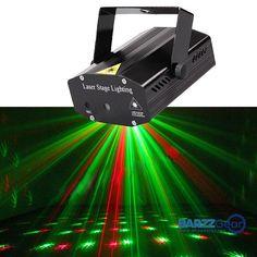 Mini Portable R&G Laser Projector