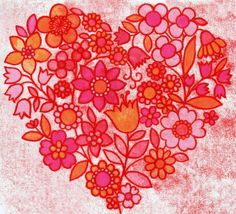 Folk Florals by Natalie Ryan, via Behance