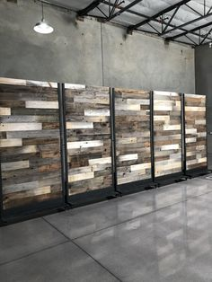 Reclaimed wood wall in our warehouse Weathered Wood, Barn Wood, Farmhouse Style, Farmhouse Decor, Wood Partition, Plank Walls, Wedding In The Woods, Custom Wood, Farm House
