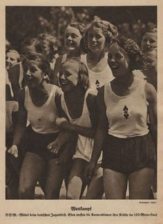 Shocking. The Bund Deutscher Mädel, also known as the BDM (League of German Girls), was the only female youth organization in Nazi Germany. It was the female branch of the overall Nazi Party youth movement, the Hitler Youth.