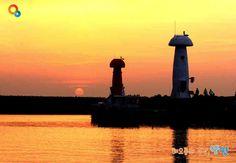 Sunrise over Mulchi Port, Yangyang, Korea