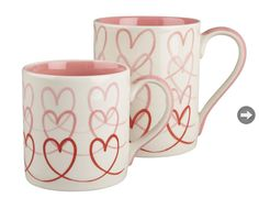 With on-the-go mugs, delicate tea cups and sturdy coffee mugs in the latest shapes and colors, Crate and Barrel can help you add a hint of style to your favorite morning pick-me-up. Valentines Mugs, Be My Valentine, Valentine Day Gifts, Valentine Ideas, Charles Eames, Teapots And Cups, Cute Mugs, Valentine Decorations, Crate And Barrel