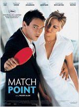 Match Point  Dirigido por Woody Allen  Com Jonathan Rhys Meyers, Scarlett Johansson, Emily Mortimer mais  Gênero Drama, Ação, Policial  Nacionalidade EUA, Reino Unido