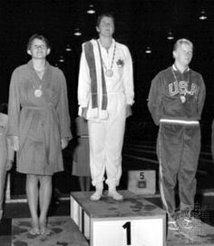 Fraser's greatest victory happened in 1964, against the odds, when she came back to win in Tokyo after a car accident that killed her mother and seriously injured her neck and spine. Such was her dominance of the 100m freestyle that she held the world record for 16 years.