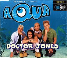 Doctor Jones (Aqua) on my personal cassette player